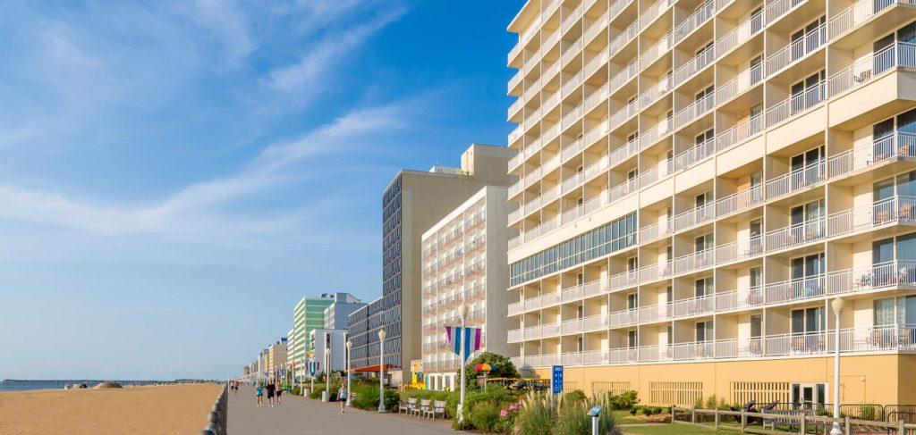 comfort suites beachfront hotel